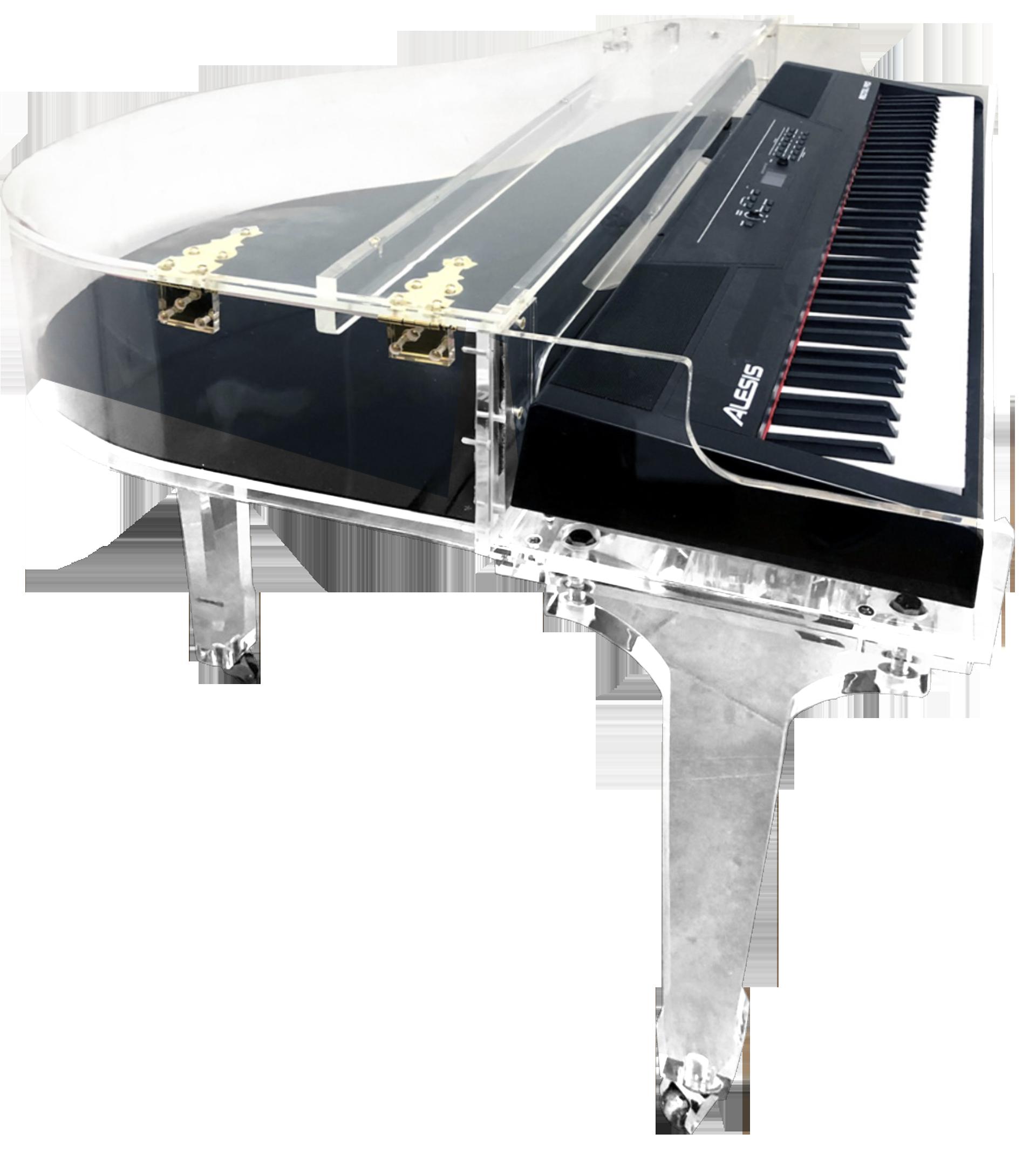 digital-piano-acrylic-shell